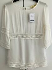 Urban Outfitters Staring at Stars White Crochet Boho Top BNWT UK XS RRP £45