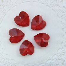 Swarovski® Crystal 14mm Heart Pendant 1 PC PK - Series #6202/6228 - Choose color