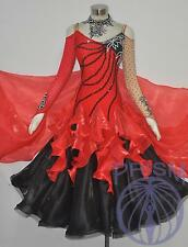 Modern Ballroom Competition Dress Standard Waltz Tango Handmade Dance Dress 2470