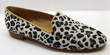 Jon Josef Gatsby Women Slip-on Flats Shoe Navy Leopard Retail for $124.99