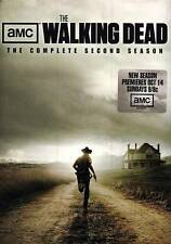 The Walking Dead: The Complete Second Season (DVD, 2012, 4-Disc Set) LIKE NEW!