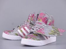 ADIDAS JERMENY SCOTT JS WINGS FLORAL PRINT SILVER LIGHT OLD GOLD WHITE B26023