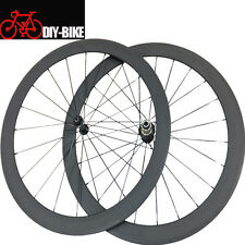700C 60mm Clincher Carbon Bicycle Wheels Road Bike Carbon Wheelset