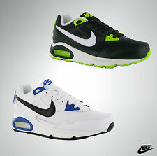 Mens Genuine Nike Air Max Leather Upper Lace Up Sport Trainers Size 6 7 8 9 10