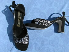 Black sling shoes back  Wedding, Prom, Evening, Coloriffics Dress Splendour