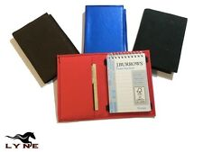 Leather Hand Made Quality Kangaroo Skin New Pocket Book Wallet Notepad Included