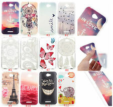 cartoon flower Silicone TPU Battery Back Case Cover skin For SONY SAMSUNG HUAWEI