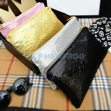 New Fashion Women Clutch Dazzling Sequins Glitter Handbag Evening Bag Purse