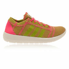Adidas Element Refine Tricot Womens Pink Green Running Sport Shoes Trainers