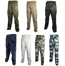 New Army BDU Cargo Pants ( Choice of Color & Size ) Military Fatigues