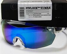 SMITH PIVLOCK V2 MAX PHOTOCHROMIC SUNGLASSES Matte Clear/Blue Mirror+Extra Lens