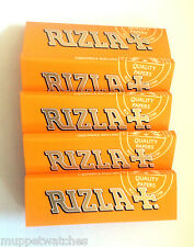 RIZLA LIQUORICE Cigarette Tobacco Rolling PAPERS - 5 10 or 20 Booklets / Packets