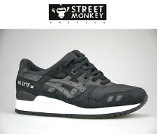 ASICS GEL- LYTE III 3 H5B2N 9090  SNEAKER MEN WOMEN TRAINERS BLACK