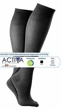 Activa Class 1 Unisex Patterned Compression Support Socks 14-17mmHg - 1 Pair