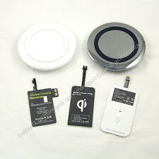 QI Wireless S Circle Charging Charger Pad +Receiver Module for mobile phones