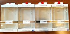 Authentic CaseMate Naked Tough Cases for Samsung Galaxy S6 & S6 edge GLAM Clear