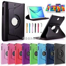 """For Samsung Galaxy Tab A 9.7"""" T550 / 8.0"""" T350 Premium Leather Stand Case Cover"""