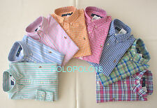 New Polo Ralph Lauren Pony Oxford Button Shirt S M L XL 2XL