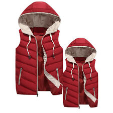 2015 New winter fashion hooded men down cotton jacket thick warm coat vest