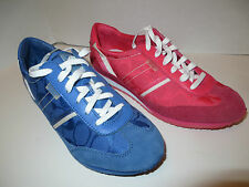 COACH MARABELLE PINK & BLUE SIGNATURE SNEAKERS RETAIL $108.00