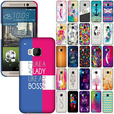 For HTC One M9 Phone Various Image Design Protector Hard Back Case Cover Skin