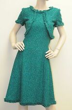 New Oscar de la Renta Green Fall 2013 DRESS 2