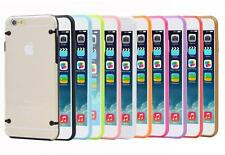 New Clear Hard Back Case Cover for Apple iPhone 6 5 5S FREE Screen Protector