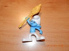 "MCDONALD'S HAPPY MEAL TOY SMURF CLUMSY 2011 SMURF MOVIE TOY 4 1/2""  COLLECTIBLE"