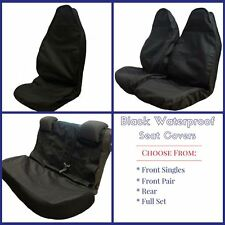 Ford Mondeo (2007-Present) Black Semi-Tailored Waterproof Seat Covers