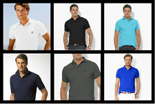 Mens Ralph Lauren Polo Shirt T-Shirt Short Sleeve S - M- L - XL FREE POSTAGE