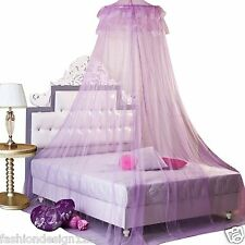Pincess Bed Dome Netting Canopy Mosquito Nets Princess Twin Queen protections