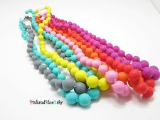 Silicone Teething Necklace,BPA Lead Free,Food Grade,FDA Approve,Teether