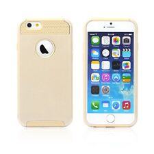 """Hybrid Hard&Soft Shockproof Rugged Rubber Cover Case For Apple iPhone 6 4.7"""" 5.5"""