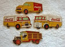 NEW!  Very Large Drink Coca-Cola Coca Cola COKE Collectable Delivery Truck Pins
