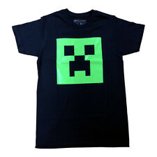 MINECRAFT CREEPER OFFICIAL GLOW IN THE DARK PRINTED T-SHIRT