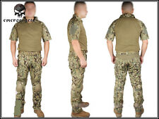 EMERSON Tactical Custom Combat Uniform Shirt & Pants Suit Set Devgru Jungle AOR2