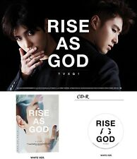 DBSK TVXQ RISE AS GOD Special Album WHITE : CD w/booklet+Poster+GiftPhoto toho