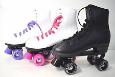 Top Brand Roller Skate Kids Youth Size #2  Black White Purple Pink
