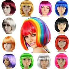 30%off Wholesale BOBO Costume Wigs Full Head Multi Color Short Wig Black Blond L
