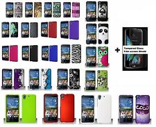 For HTC Desire 626 626s Hard Case Phone Cover + Screen Protector