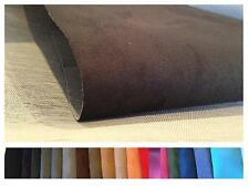 ALCANTARA IMITATION - FAUX SUEDE - UPHOLSTERY FABRIC - CAR - BOAT - BACKED