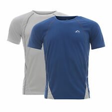 NEW Mens Breathable Running Vest Gym Wickable Tee Shirt Fitness T Training Top