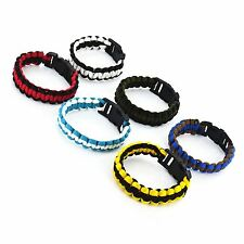 Paracord Survival Bracelet Emergency Cord Outdoor Festival Camping
