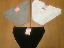 ladies luxury cotton with spandex knickers various sizes & colours