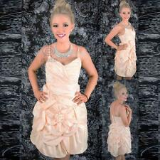 Tiered Bubble Gown Ruffle Flower Sweetheart Neckline Formal Party Prom Dress