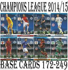 #172-249 BASE CARDS Panini 2014/2015 Adrenalyn Champions League