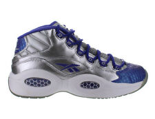 Girls Reebok Question Mid (GS) Silver Purple White M43989
