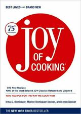 Joy of Cooking by Irma S. Rombauer, Ethan Becker and Marion Rombauer Becker...