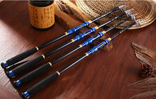 Saltwater Surf Travel Telescopic Fishing Rod Blue Carbon Fishing Pole One piece