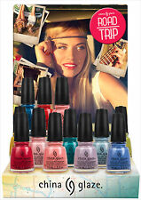 China Glaze Nail Polish Lacquer Road Trip Collection 0.5oz/14ml